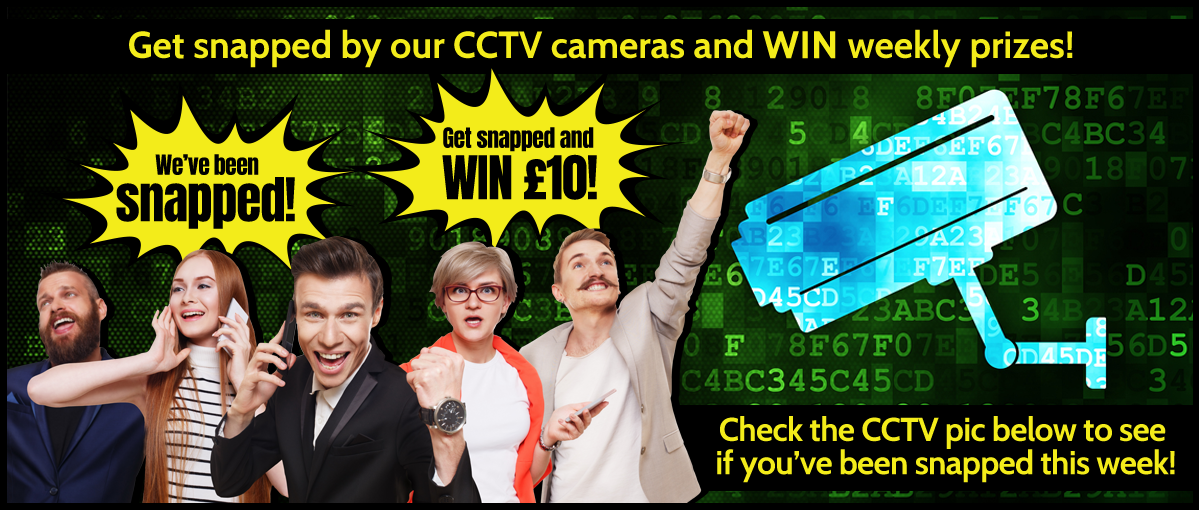 Get snapped by our CCTV cameras and WIN weekly prizes! Check the CCTV pic below to see if you've been snapped this week! You've Been Snapped by Courtesy Taxis!