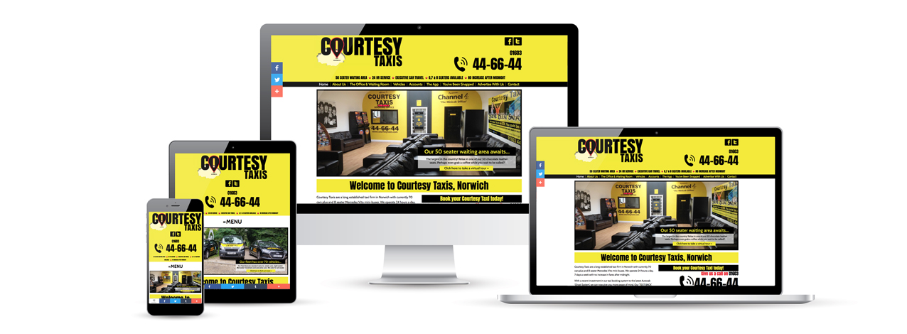 The NEW Courtesy Taxis website is here!